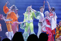 Mamma mia the musical based on the songs of abba basel switzerland may back in switzerland from may to juin at theater Stock Photography
