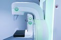 Mammography breast screening device in hospital laboratory Royalty Free Stock Image