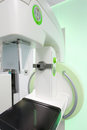 Mammography breast screening machine device in hospital laboratory Royalty Free Stock Photos