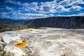Mammoth Hot Springs, Yellowstone National Park Royalty Free Stock Photo