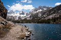 Mammoth lakes little trail at Royalty Free Stock Images