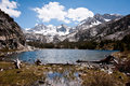 Mammoth lakes little trail at Royalty Free Stock Photo