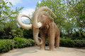 Mammoth sculpture Stock Photography