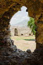 Mamure (Anamur) castle ruins, Turkey Royalty Free Stock Photo