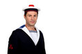 Man as a sailor Stock Photography