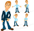 Man character 02 Royalty Free Stock Image