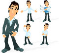Man character Stock Images