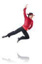 Man dancing spanish dances Royalty Free Stock Image