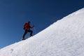 Ski touring Royalty Free Stock Photo