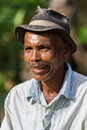 Man of ethnicity sakalava native of nosy be island north of madagascar on march Royalty Free Stock Image