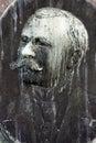 Man Face Plate
