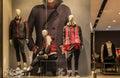 Man Fashion Clothing Shop Wind...