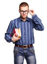 Man in glasses Royalty Free Stock Photos