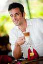 Man Having Coffee Royalty Free Stock Images