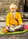 Man hinduism a of religion Stock Photography