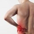 Man hip pain