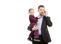 Man with his baby Royalty Free Stock Photos
