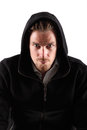 Man in a hoodie Royalty Free Stock Image