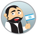 Man from Israel Royalty Free Stock Photography