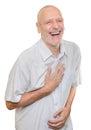 Man Laughing Royalty Free Stock Photo