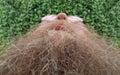 Hombre largo bigote