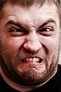 Man making stupid face Royalty Free Stock Photo