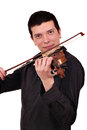 Man play violin Royalty Free Stock Images