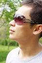 Man profile Royalty Free Stock Photo