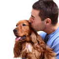 Man's best friend Royalty Free Stock Photo