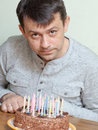 Man's birthday Royalty Free Stock Photo