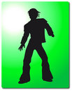 Man silhouette Illustration Royalty Free Stock Photos