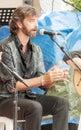 Man singing flamenco