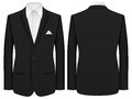 Man suit men formal on a white background Stock Photos