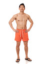 Man in Swimwear Royalty Free Stock Photos
