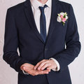 Man is taking off the wedding ring Stock Photography