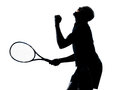 Man tennis player Royalty Free Stock Photos