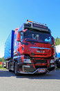 MAN TGX Show Truck Royalty Free Stock Photo