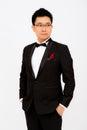 A man in tuxedo asia Stock Photography