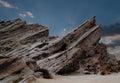 Man at Vasques Rocks Royalty Free Stock Photo