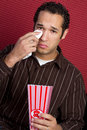 Man Watching Movie Stock Photos