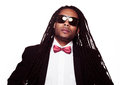 Man wearing sunglasses and suit dreadlocks businessman Stock Photos