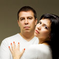 Man and woman - couple Royalty Free Stock Photo