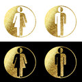Man woman symbols Royalty Free Stock Photo