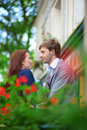 Man and woman together Royalty Free Stock Photo