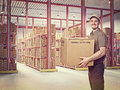 Man at work Royalty Free Stock Photo