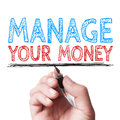 Manage Your Money Royalty Free Stock Photo