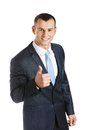 Manager thumbs up Royalty Free Stock Images