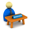 Managers desk Royalty Free Stock Photo