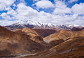 Manali - Leh road in Ladakh, India Stock Image