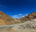 Manali leh road to ladakh in indian himalayas ladakh india Royalty Free Stock Photos